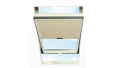 RORO TÜREN & FENSTER Sichtschutzrollo BxL: 74x140 cm, beige kaufen