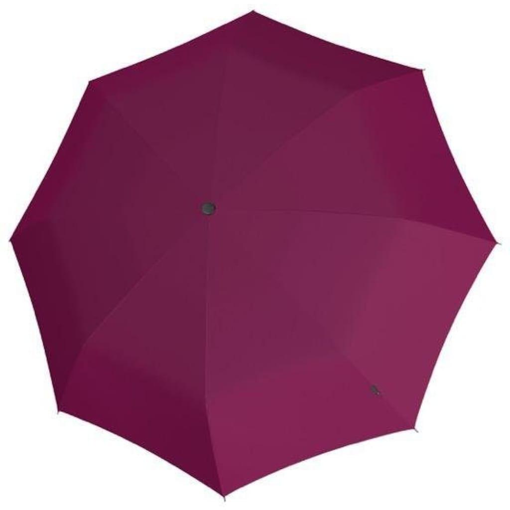 Knirps® Taschenregenschirm »A.200 Medium Duomatic, uni violet«