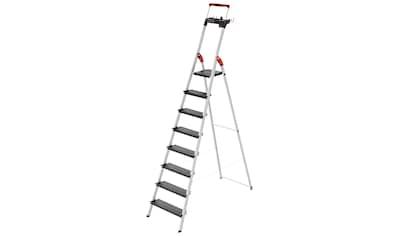 Hailo Stehleiter »L100 TopLine«, Alu-Sicherheits-Stehleiter, 8-stufig kaufen