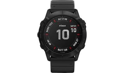 Garmin fēnix 6X – Pro Smartwatch (3,56 cm / 1,4 Zoll) kaufen