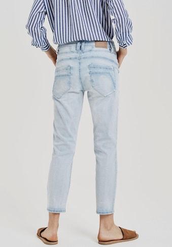 OPUS Boyfriend-Jeans »Letty«, mit markanten Ziernähten kaufen