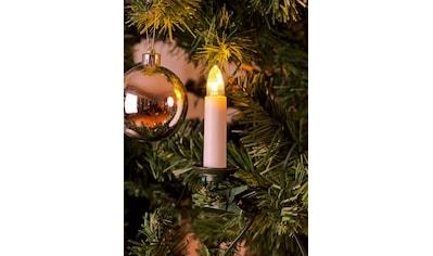 KONSTSMIDE LED-Christbaumkerzen, 35 St.-flammig, LED Baumkette, Topbirnen, One String,... kaufen