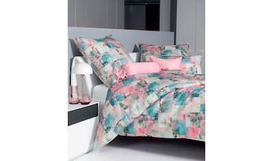 Janine Bettwäsche »Milano 45003«, mit floralem Muster kaufen