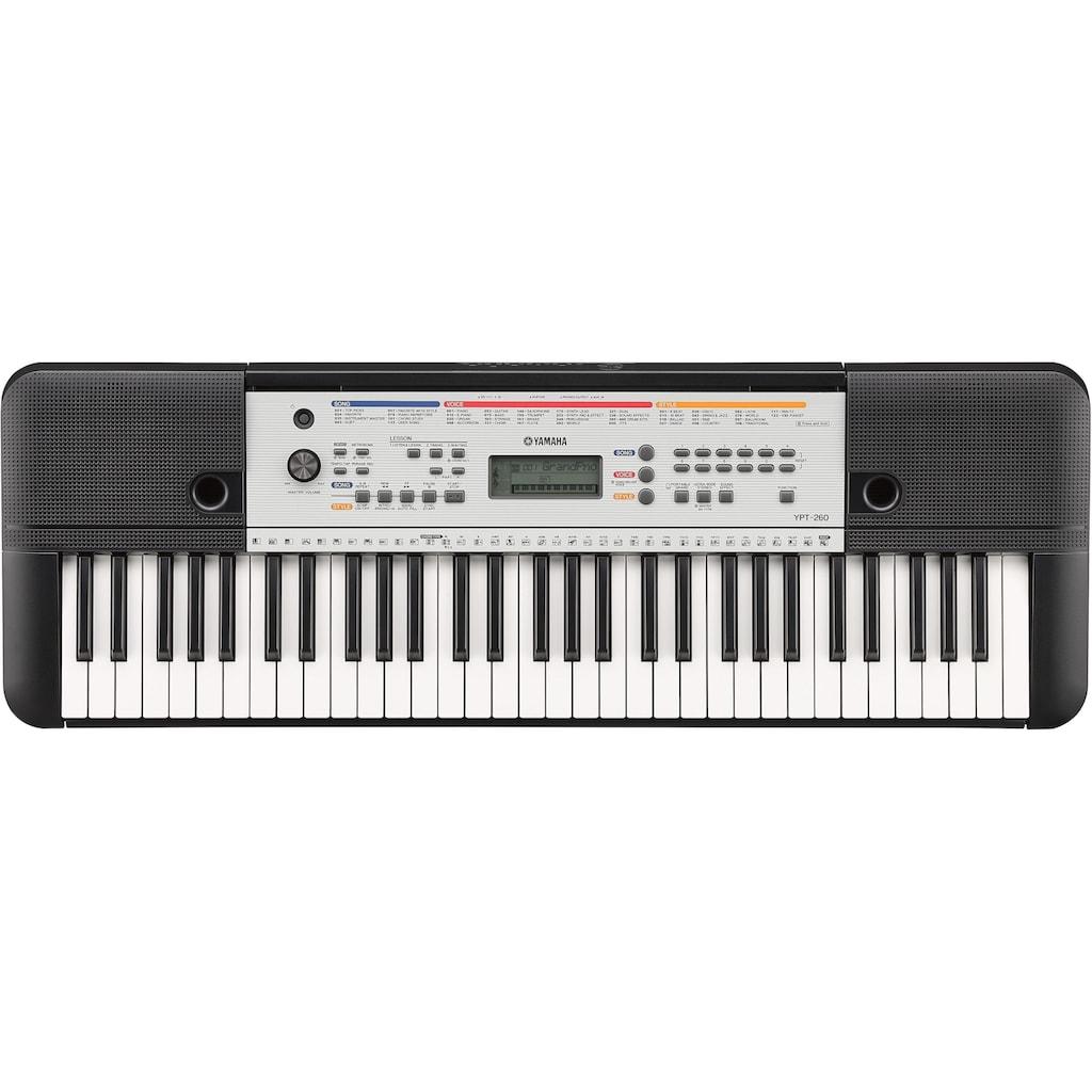 Yamaha Keyboard »YPT-260«, mit Onboard-Lernfunktion Yamaha Education Suite