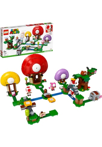 """LEGO® Konstruktionsspielsteine """"Toads Schatzsuche – Erweiterungsset (71368), LEGO® Super Mario"""", Kunststoff, (464 - tlg.) kaufen"""