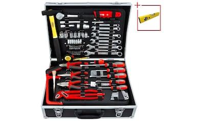 FAMEX Werkzeugkoffer »759 - 63«, 125 - tlg. Set mit Universalbestückung kaufen