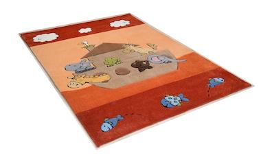 THEKO Kinderteppich »Animals on Tour«, rechteckig, 14 mm Höhe, Kurzflor,... kaufen