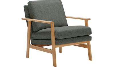 LOVI Sessel »Pepper«, mit hochwertigem massivem Eichengestell, neuer Klassiker mit... kaufen