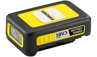 KÄRCHER Akku »Starter Kit Battery Power 18/25«, inkl. Ladegerät kaufen
