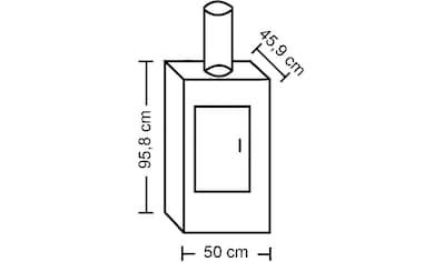 ADURO Kaminofen »Aduro 9 - 1«, Stahl, 6 kW, Adurotronic, Holzfachtür kaufen