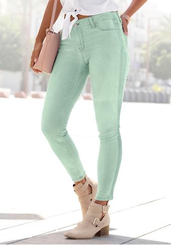 Buffalo Skinny-fit-Jeans, mit seitlichem Streifen kaufen
