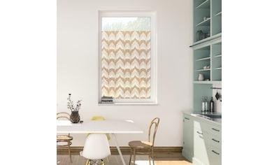 LICHTBLICK ORIGINAL Fensterfolie »Fensterfolie selbstklebend, Sichtschutz, Boho Zig... kaufen
