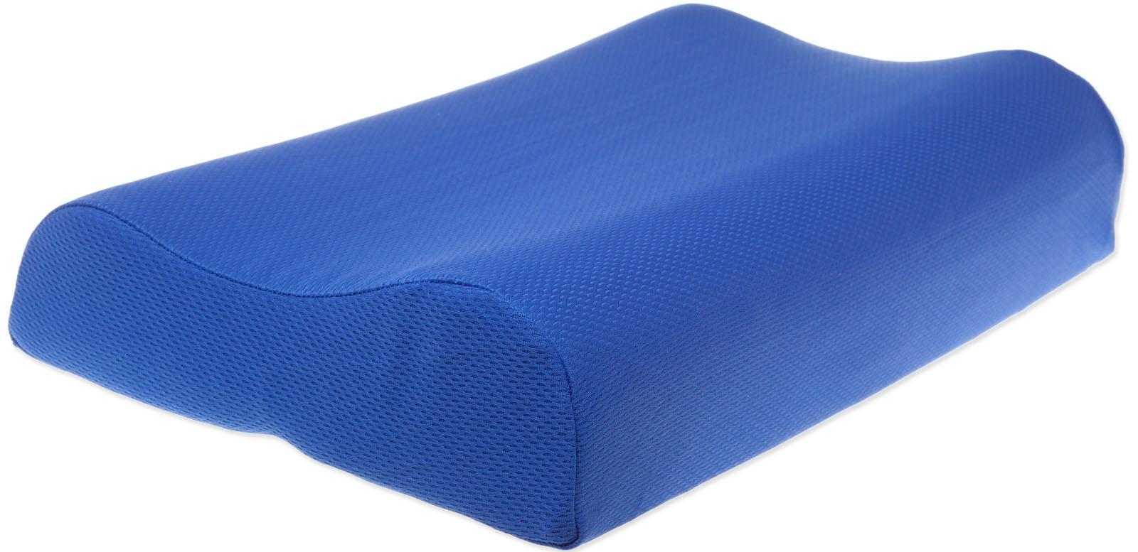 Jekatex Reisekissen Ergo 50x30cm, (1 tlg.) blau Nackenkissen Kissen