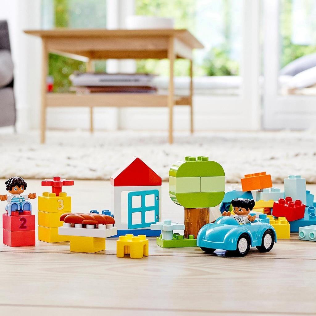 LEGO® Konstruktionsspielsteine »LEGO® DUPLO® Steinebox (10913), LEGO® DUPLO® Classic«, (65 St.), Made in Europe