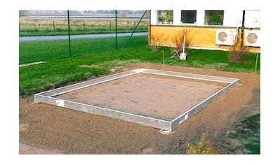 VITAVIA Fundamentrahmen »11500«, BxL: 254x441 cm, schwarz kaufen