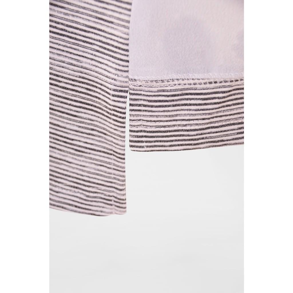 NAVIGAZIONE Più Linienshirt mit Print