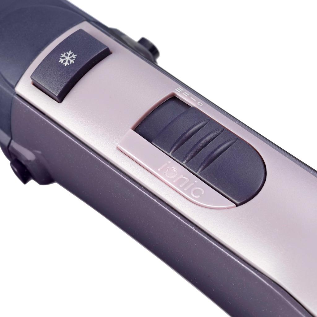 BaByliss Warmluftbürste »AS121E Multistyle«, 4 Aufsätze}, rotierender Heißluftstyler mit 4 Aufsätzen