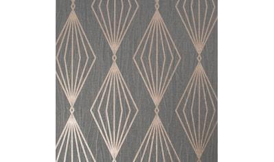 Boutique Vliestapete »Marquise Geo«, geometrisch, Dunkelgrün - 10mx52cm kaufen