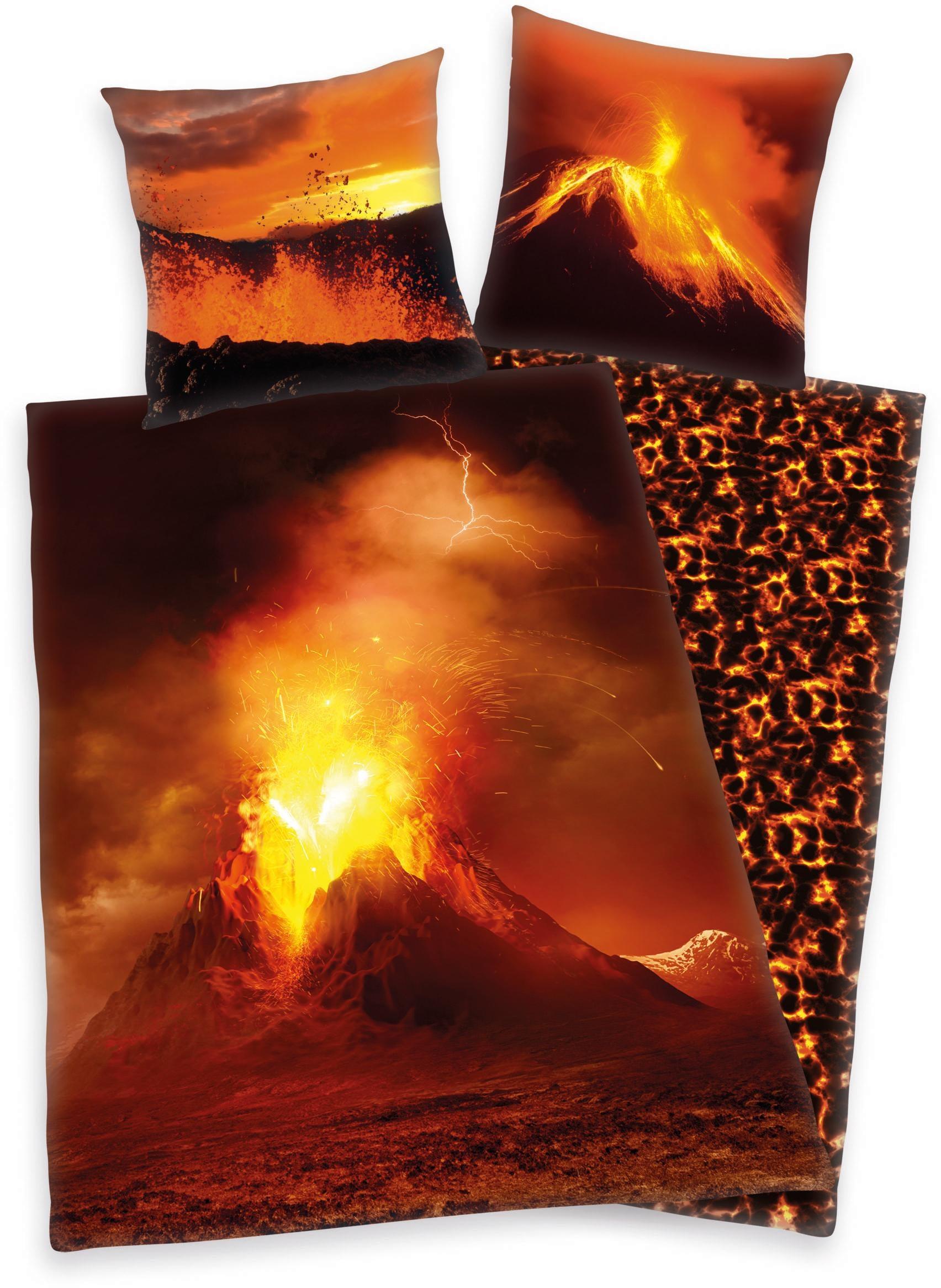Kinderbettwäsche Vulkan Herding Young Collection