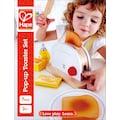 Hape Kinder-Toaster »Pop-Up-Toaster-Set, 7-tlg.«, (Set, 7 tlg.), aus Holz