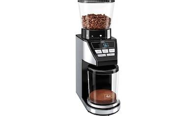 Melitta Kaffeemühle Calibra 1027 - 01 schwarz - Edelstahl, Kegelmahlwerk kaufen