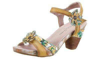 LAURA VITA Sandalette »DACXO«, mit schöner Blütenapplikation kaufen