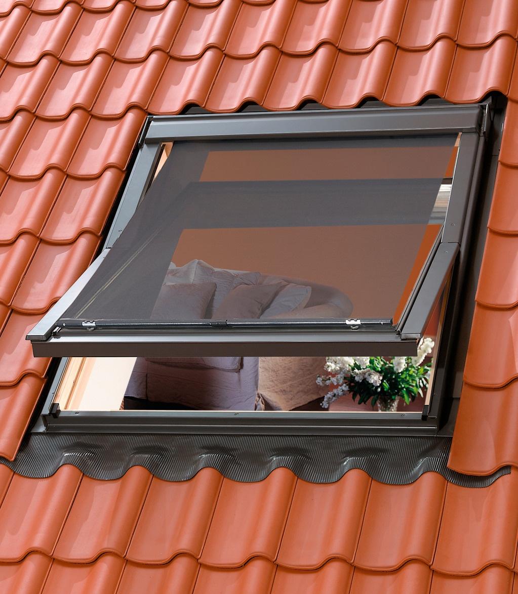 VELUX Dachfensterrollo, blickdicht, Hitzeschutzmarkise für Dachfenstergröße: 204/206 schwarz Dachfensterrollos Rollos Jalousien Dachfensterrollo