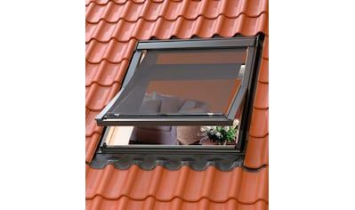 VELUX Dachfensterrollo, blickdicht, Hitzeschutzmarkise für Dachfenstergröße: 204/206 kaufen