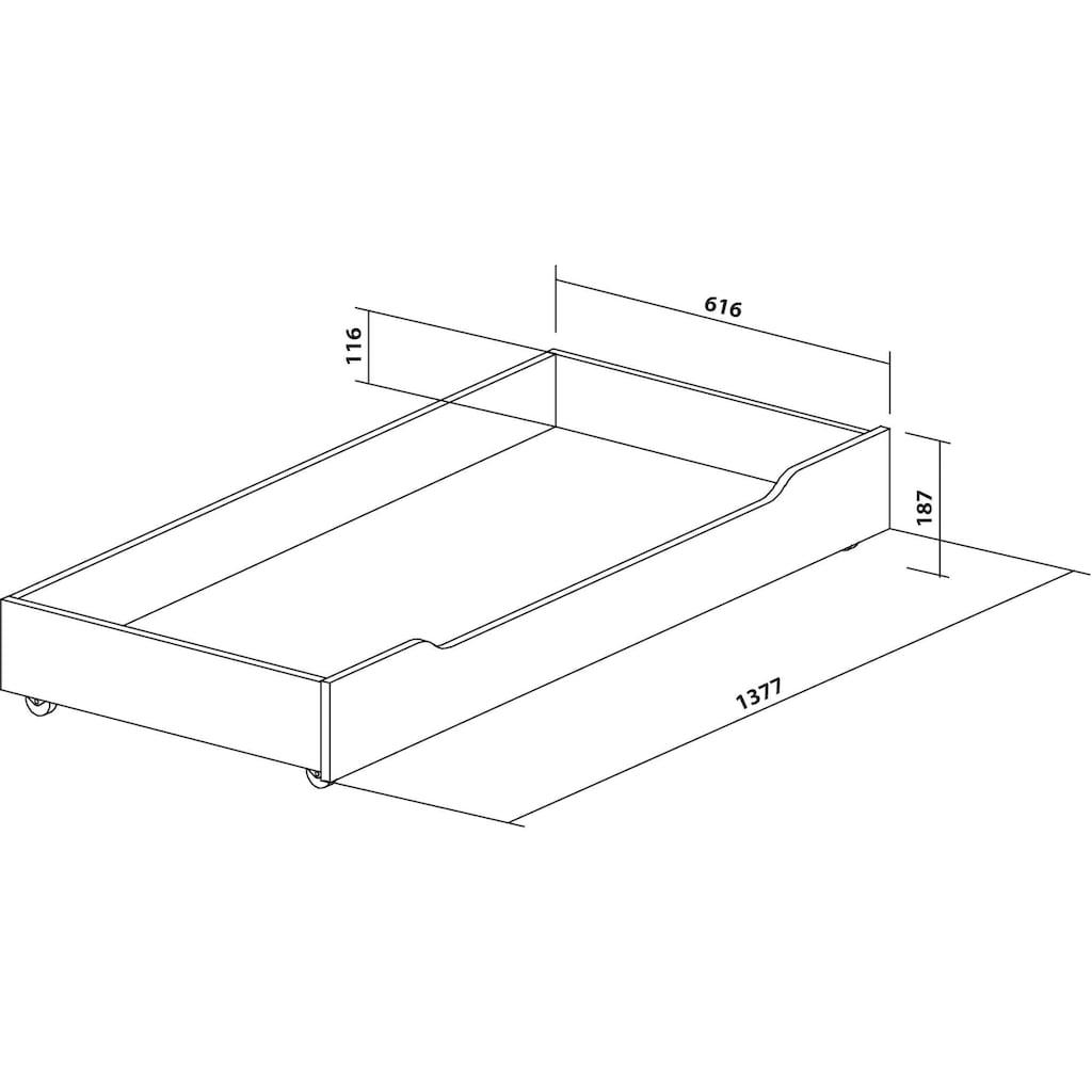 INOSIGN Schublade »Aubetin«, auf Kunststoffrollen
