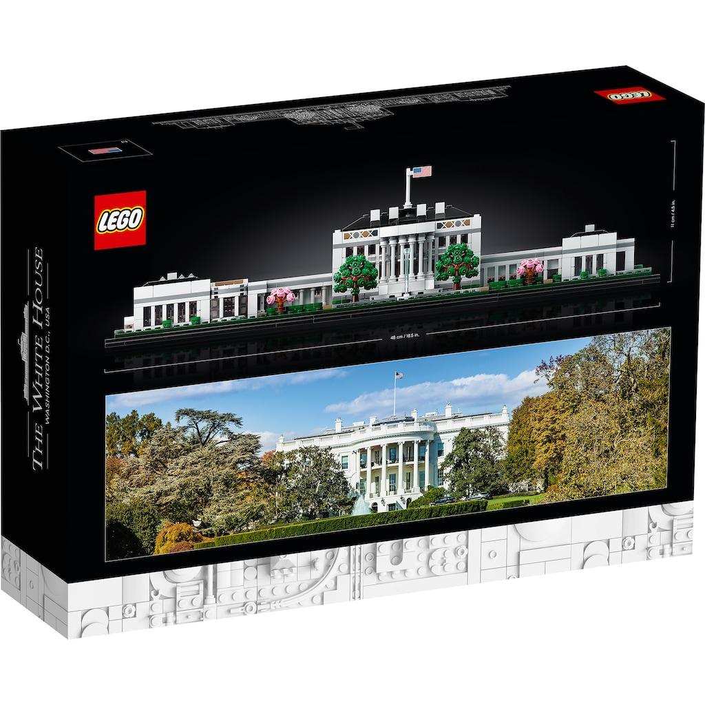LEGO® Konstruktionsspielsteine »Das Weiße Haus (21054), LEGO® Architecture«, (1483 St.), Made in Europe