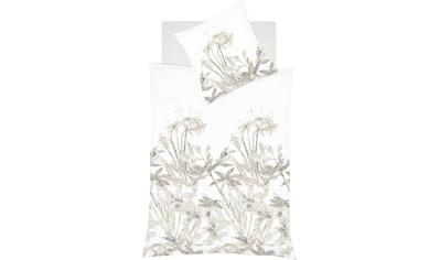 fleuresse Wendebettwäsche »Provence Cassis«, elegante Blumenwiese kaufen