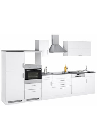 Küchenzeile »Graz«, ohne E - Geräte, Breite 350 cm kaufen