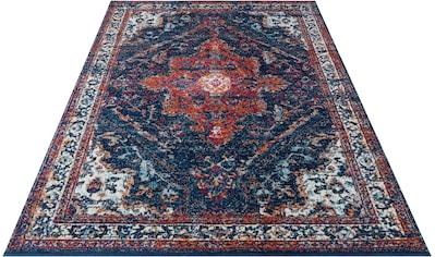 NOURISTAN Teppich »Azrow«, rechteckig, 10 mm Höhe, Kurzflor, Orient-Optik, Wohnzimmer kaufen