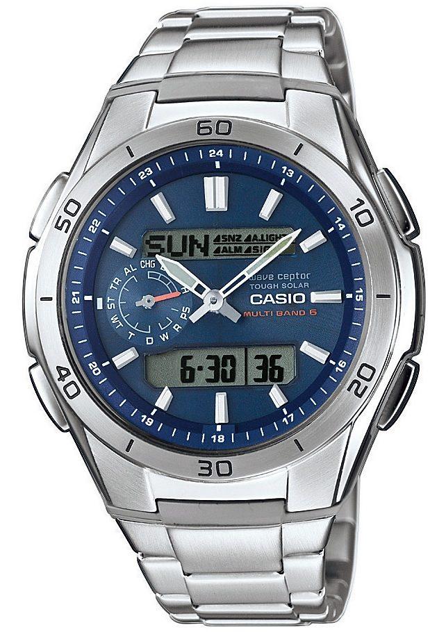 Casio Funk Funkchronograph WVA-M650D-2AER   Uhren > Chronographen   Casio Funk