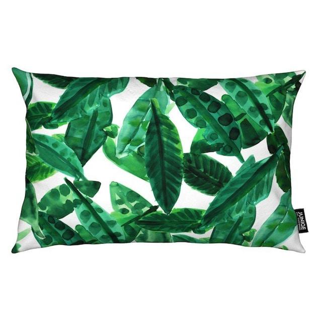 Dekokissen, »Small Palm Leaves«, Juniqe