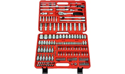 FAMEX Werkzeugset »Koffer 525-SD-16«, (174 St.), für Kellerraum und Werkstatt kaufen