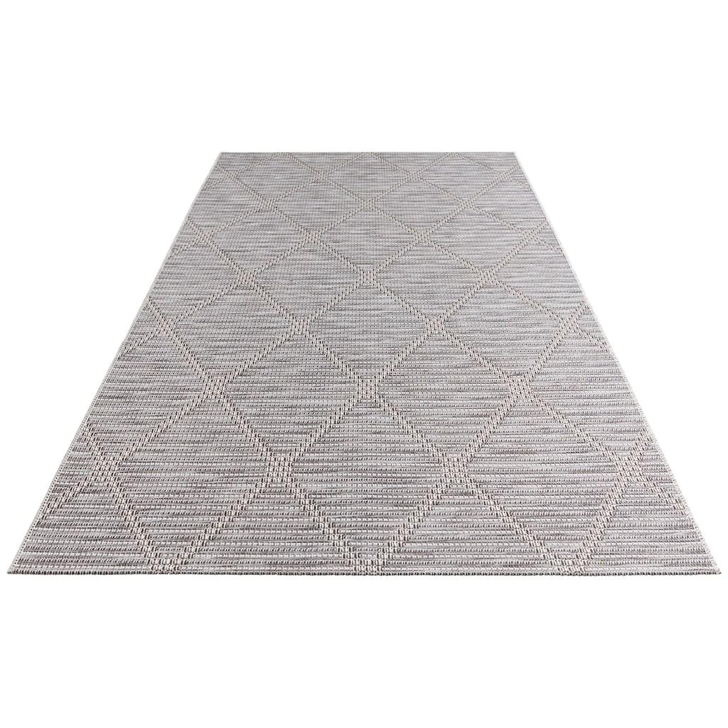 ELLE Decor Teppich »Yonne«, rechteckig, 4 mm Höhe, In- und Outdoor geeignet, Wohnzimmer