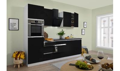 RESPEKTA Küchenzeile »Boston«, mit E-Geräten, Breite 270 cm kaufen