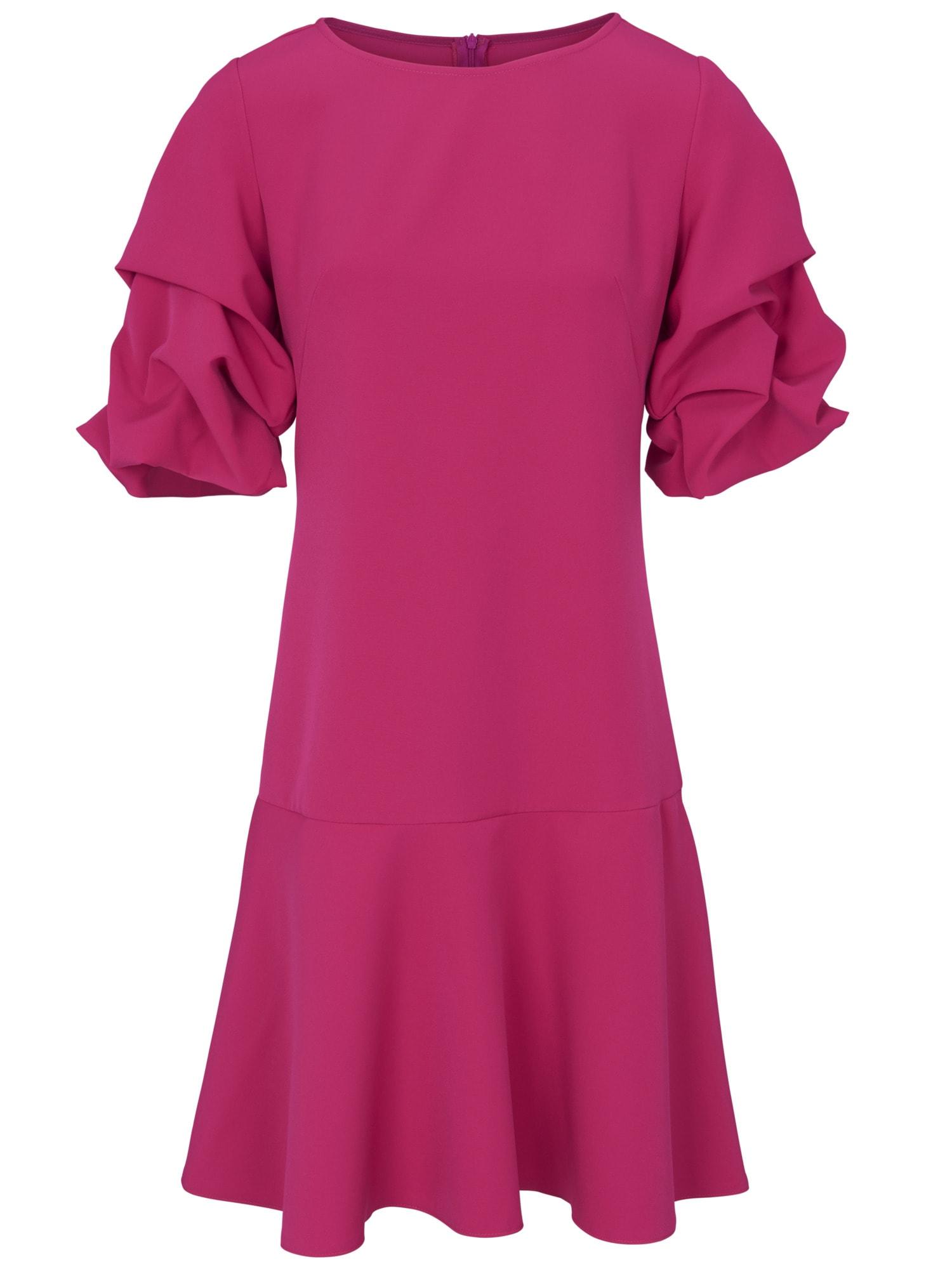 heine TIMELESS Kleid mit effektvoll, drapierten Ärmeln