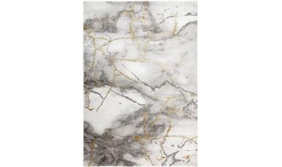 merinos Teppich »Craft 23270«, rechteckig, 12 mm Höhe, Wohnzimmer, Marmor Optik kaufen