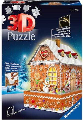 """Ravensburger 3D - Puzzle """"Lebkuchenhaus bei Nacht"""" kaufen"""