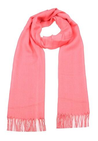 leslii Schal mit gedrehten Fransen »Uni Trend« kaufen