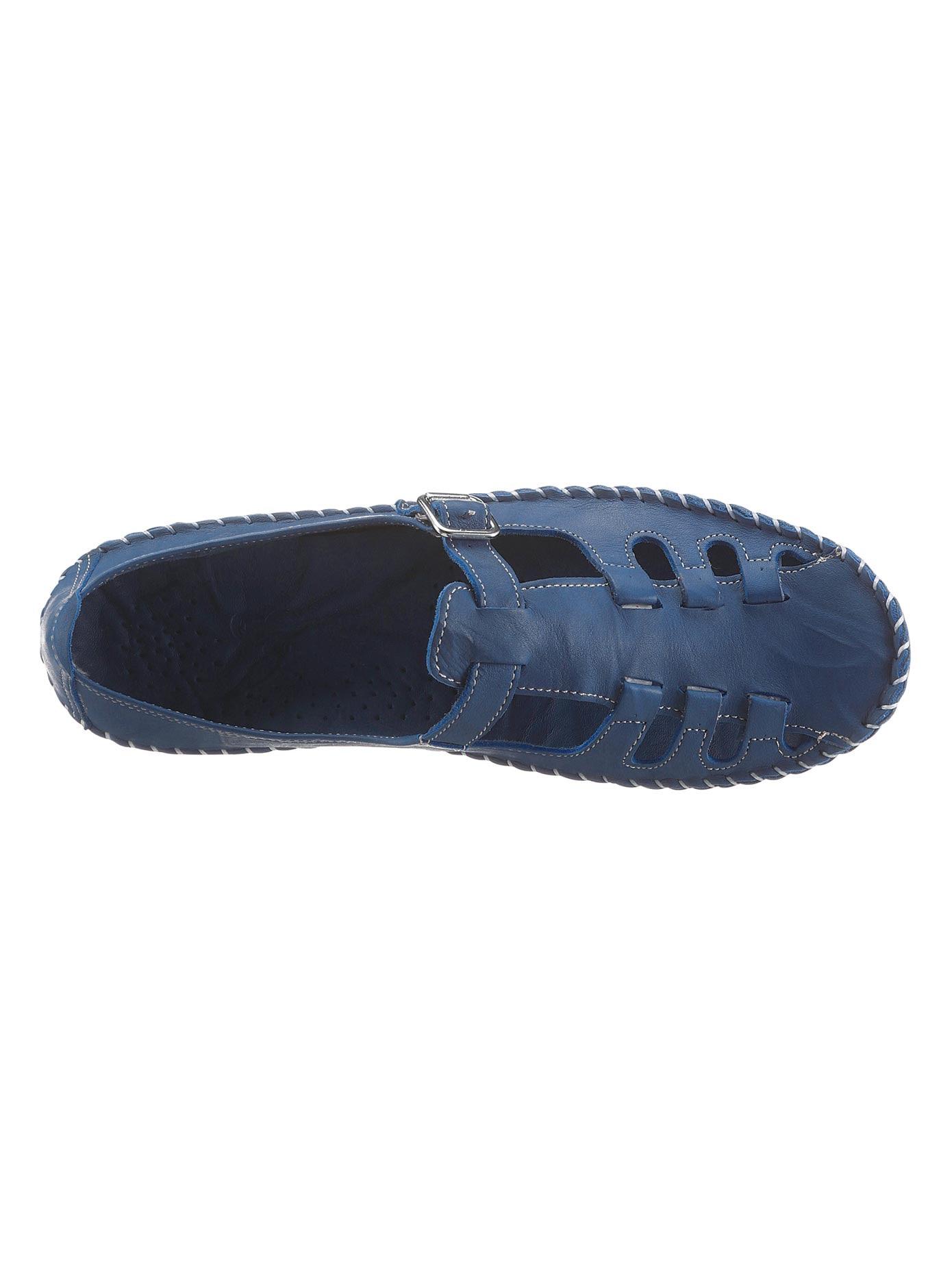 Gemini Slipper blau Damen
