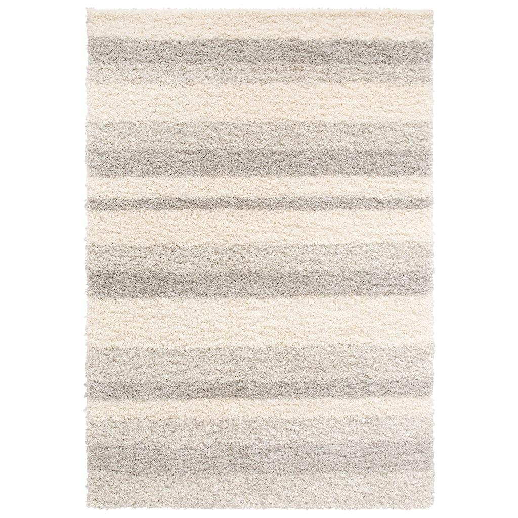 Home affaire Hochflor-Teppich »Riga«, rechteckig, 45 mm Höhe, dichter Flor, Wohnzimmer