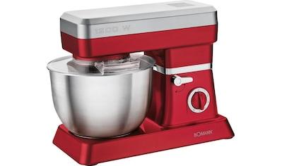 BOMANN Küchenmaschine KM 398 CB ROT, 1200 Watt, Schüssel 6,3 Liter kaufen
