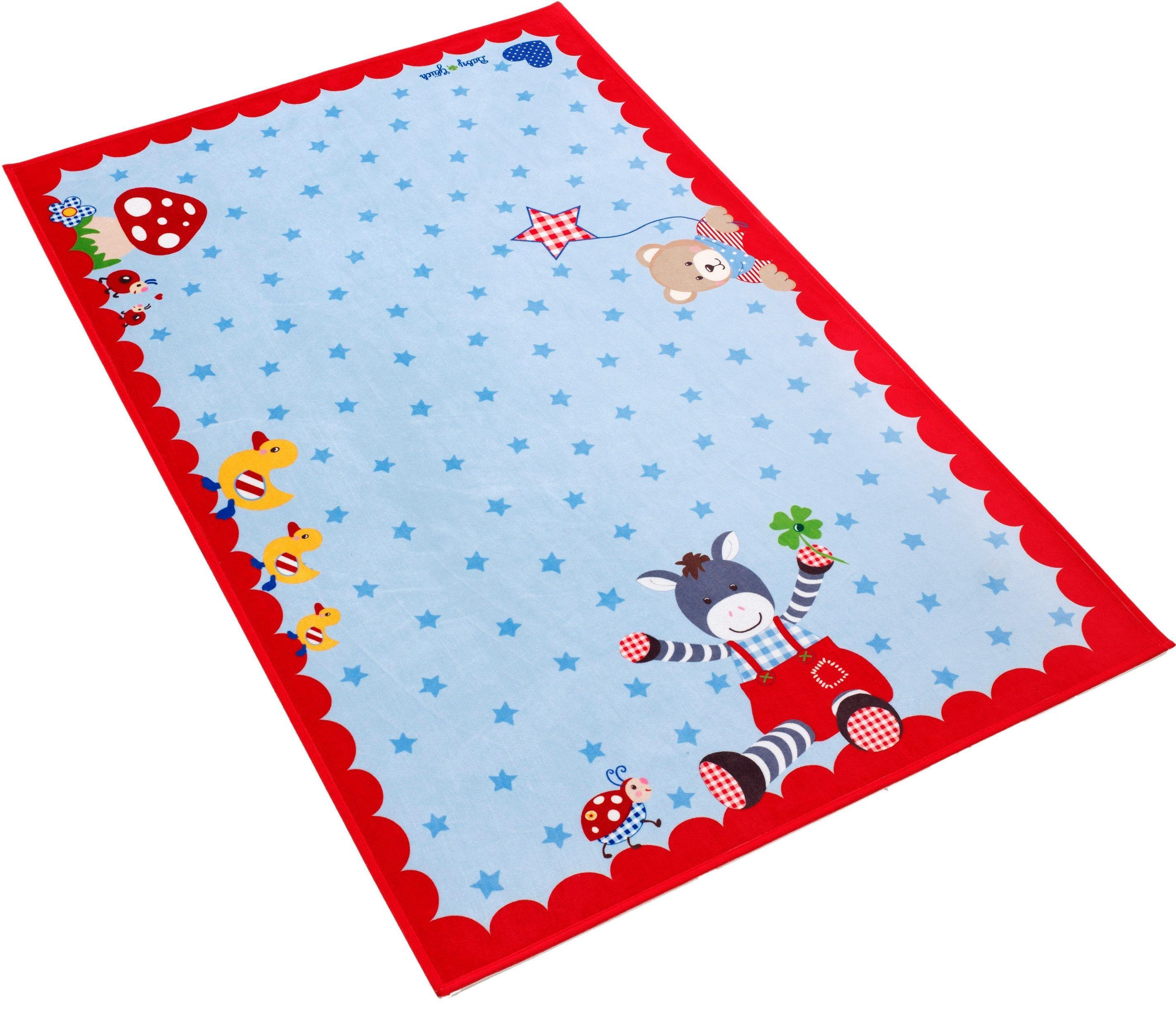 Kinderteppich Babyglück 715 Babyglück rechteckig Höhe 6 mm gedruckt