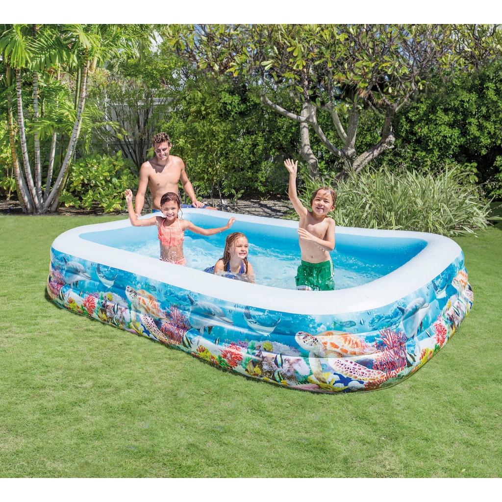 Intex Pool »Swimcenter Sealife«, für Kinder, BxLxH: 183x305x56 cm