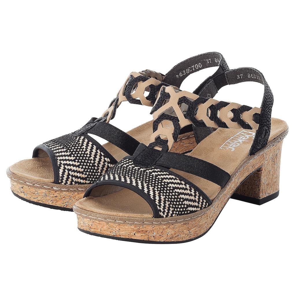 Rieker Sandalette, in elegantem Look