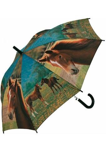 doppler® Stockregenschirm »Jugend AC Pferde« kaufen