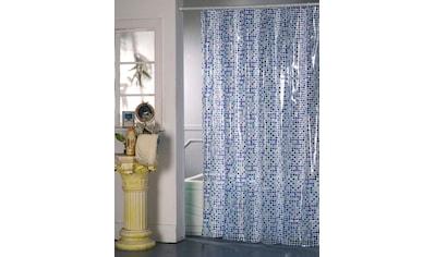MSV Duschvorhang »BLAUMOSAIK«, Breite 180 cm kaufen